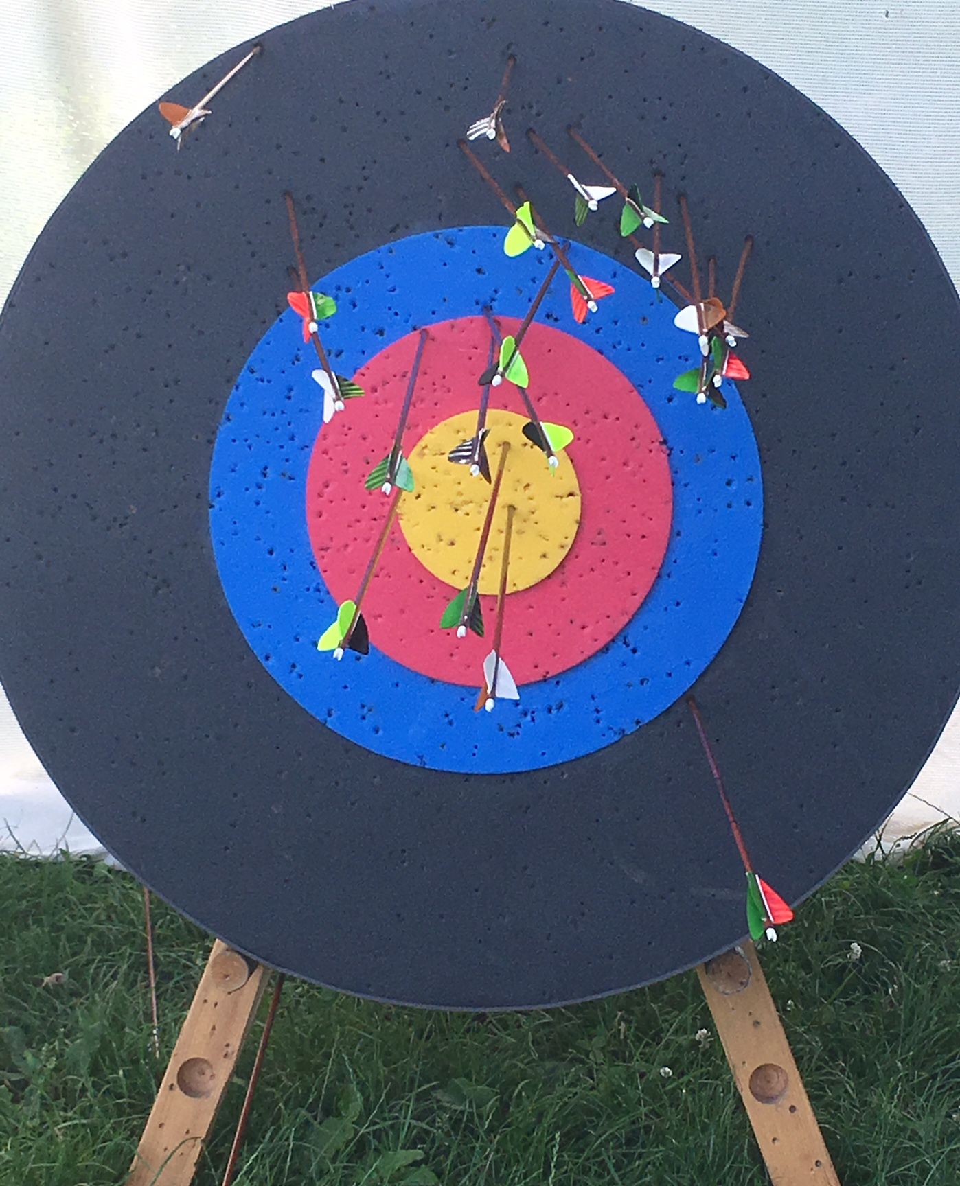 Bogen-Zielscheibe