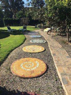 Seminarhotel Malaga Garten Weg