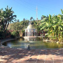 Seminarhotel Malaga Garten Teich