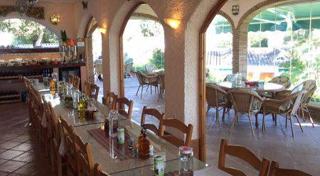 Seminarhotel Malaga Restaurant gedeckter Tisch