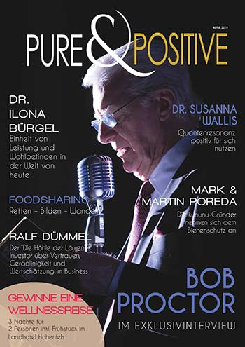 PURE & POSITIVE Cover Ausgabe 04/19