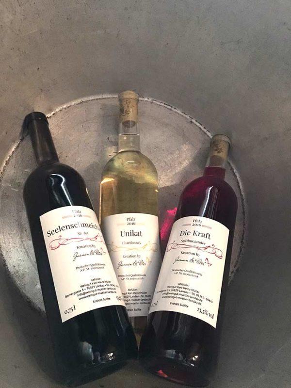 Weinkreationen by Jasmin & Peter